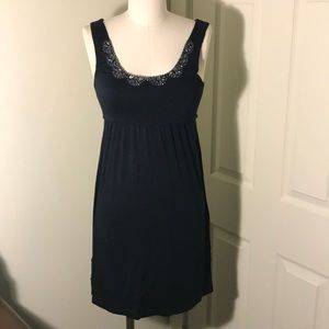 Ann Taylor Loft Petites Women's Navy Dress - XXSP